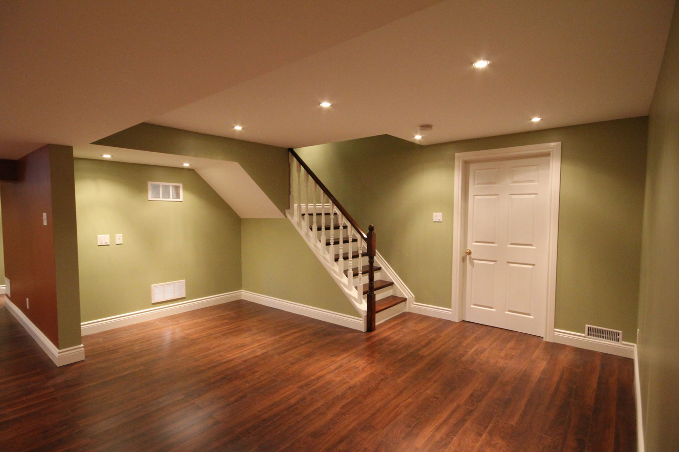 Basement sak construction and home improvement - Interior basement ...